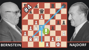 This 72-year-old Chess Masters' Best Game? - Best Of The 50s - Bernstein vs. Najdorf