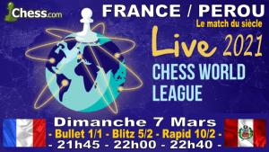France vs Perou ! Appel aux joueurs français !