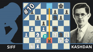How Kashdan Checkmated With Only Two Knights - Best Of The 1940s - Siff vs. Kashdan, 1948