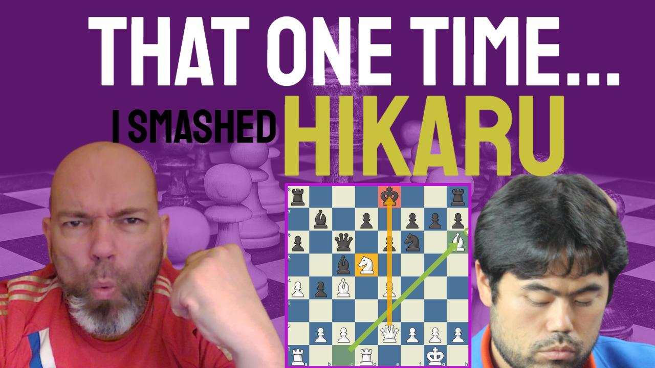 That one time I SMASHED Hikaru!