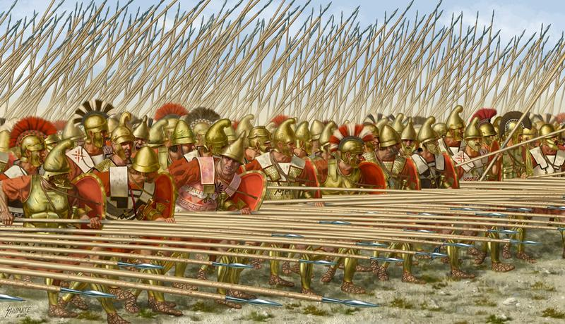 Pawns Adventures: Macedonian Phalanx