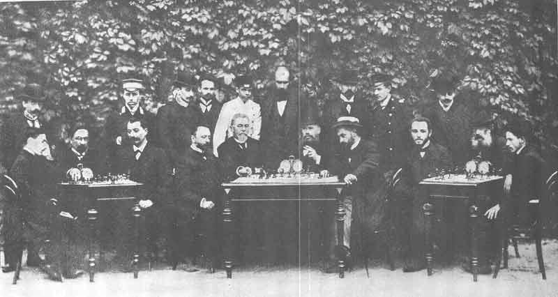 A Century of Chess; Vienna 1903