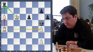 Road to the Grandmaster title - Endgame Victory against Grandmaster Rustemov