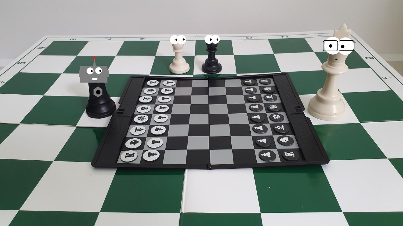 Chess Celebrities vs. Celebrity Bots