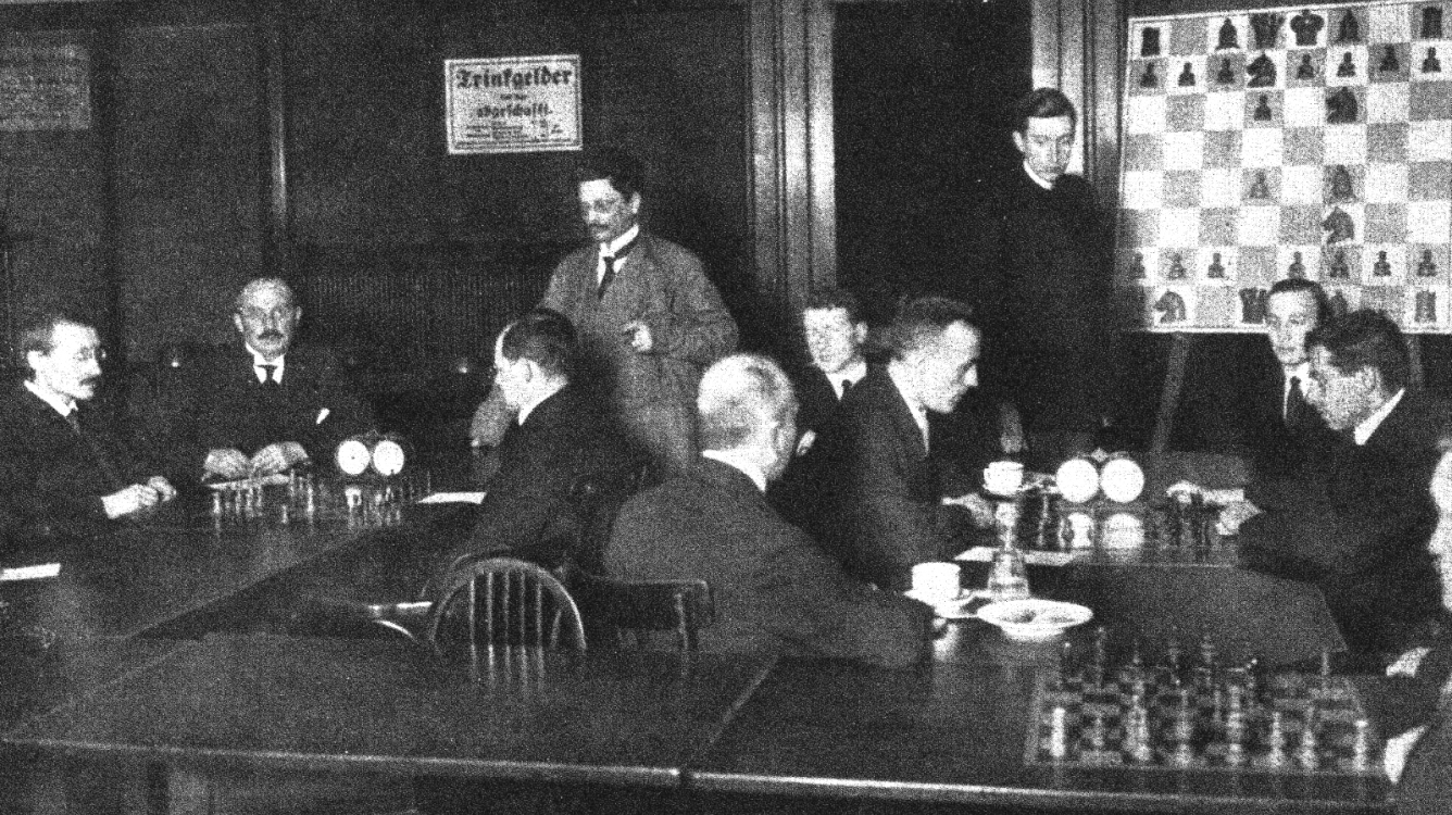 Berlin 1919 Four Masters... I just found a photo