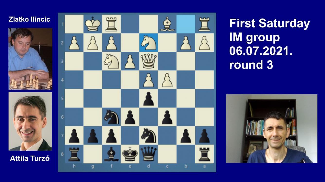 Road to the Grandmaster title | June IM round 3 | Ilincic-Turzo | Slav Defense