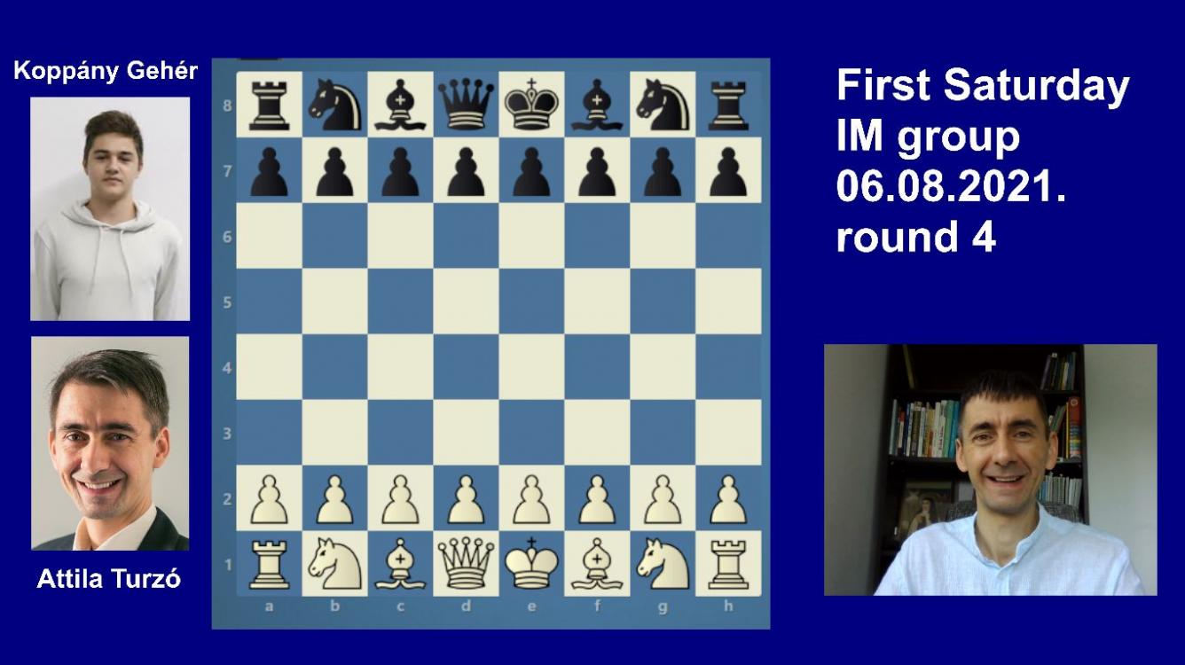 Road to the Grandmaster title | June IM round 4 | Turzo-Geher | Isolated pawn