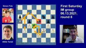Road to the Grandmaster title   June IM round 8   Turzo-Fule