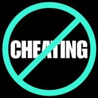 ...On cheating.