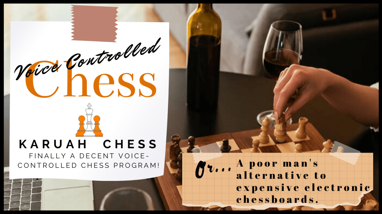 Finally a decent voice-controlled chess app!
