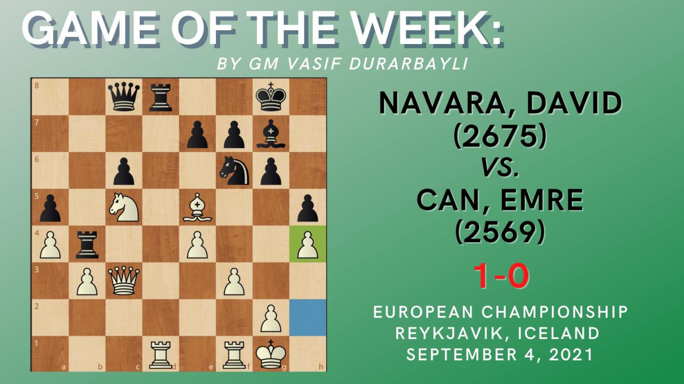 Game of the Week XXXV-Navara,David (2675) - Can,Emre (2569)