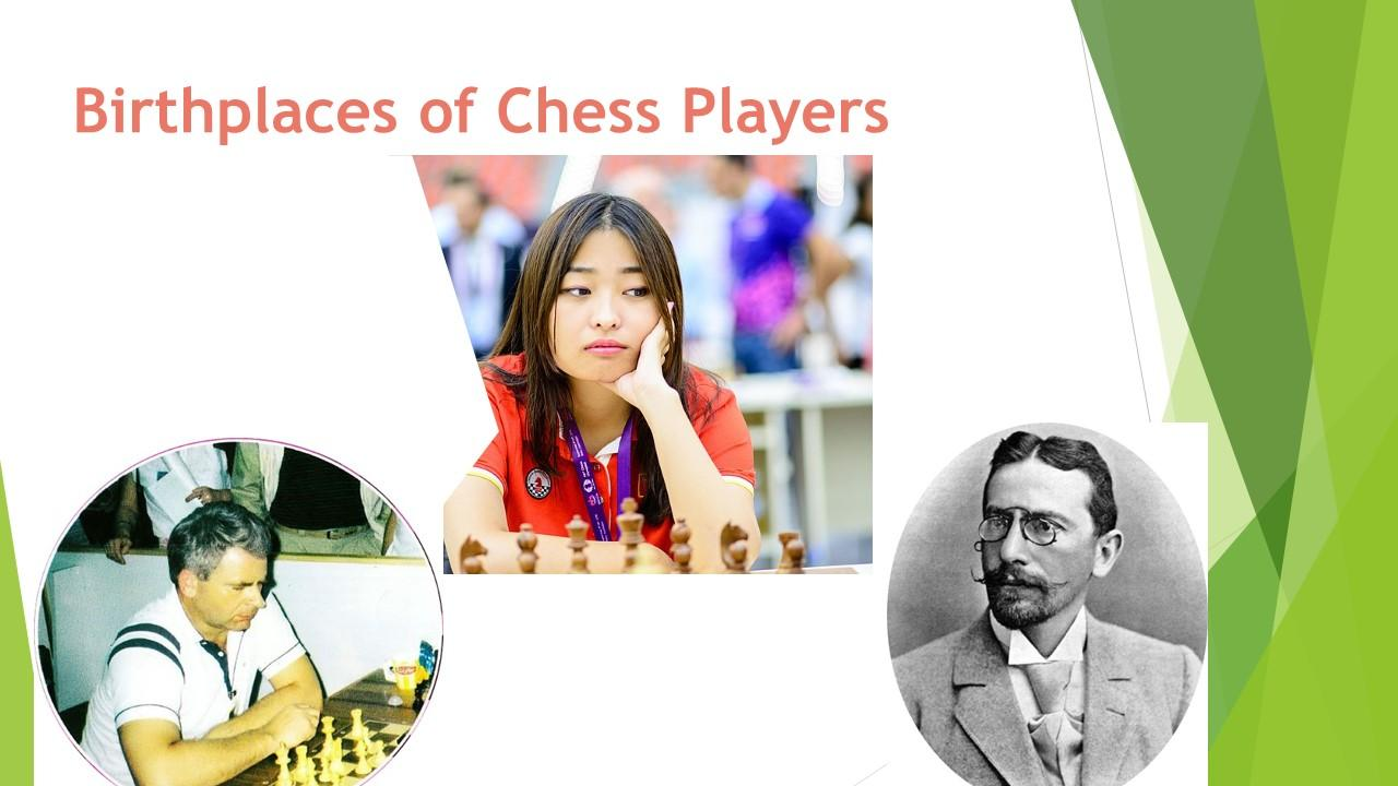 Birthplaces of Chess Players
