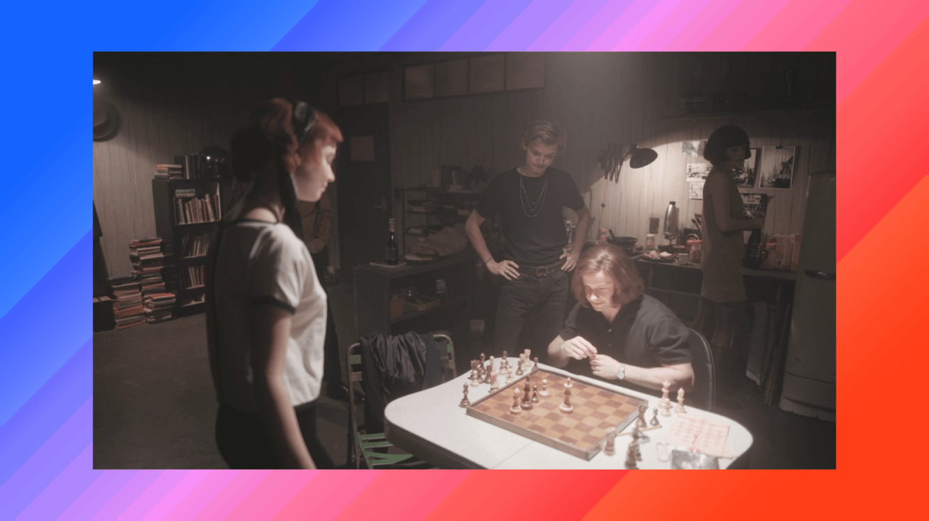 Chess problems vs puzzles and more on 'The Queen's Gambit' scene
