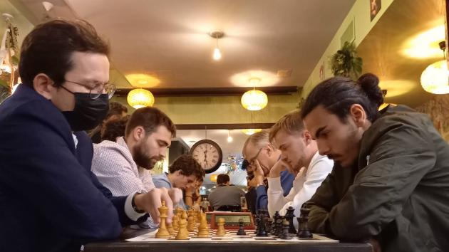 Chess in a bar