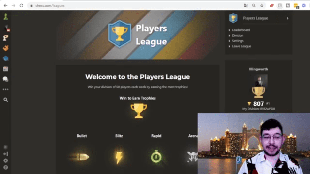 About Chess.com Leagues