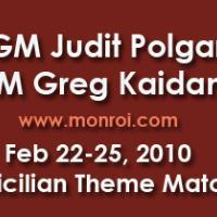 Judit Polgar – Gregory Kaidanov Sicilian Theme Match