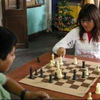 The amazing story of two young, humble Peruvian World Chess Champions.