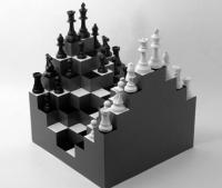 More novelty chess sets...