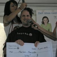 Fund raising for Leucan