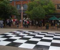 Human Chess - Nakamura v Finegold - Photos Sean Trani