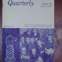 American Chess Quarterly Vol. 1, No. 1