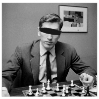 Blindfold chess exercises and visualization training