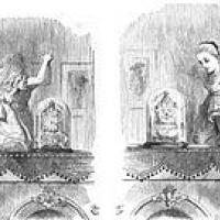 The Chess Game in Through The Looking Glass