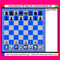 Chess Network Facebook Page VS National Master - Rematch
