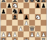 Bishop Sacrifice Leads to Utter Devistation of Black in 10 Moves