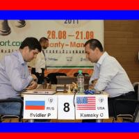 2011 FIDE World Chess Cup Knockout: Gata Kamsky vs. Peter Svidler