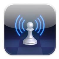 A live chess game