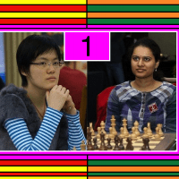 2011 Women's World Chess Championship: Humpy Koneru vs Hou Yifan - Game 1