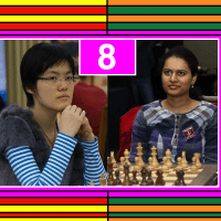 2011 Women's World Chess Championship: Humpy Koneru vs. Hou Yifan - Game 8