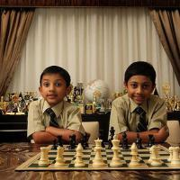 Schools line up to take chess boys