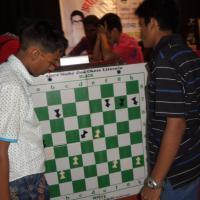 Final of Blindfold Pawn Game Team Championship