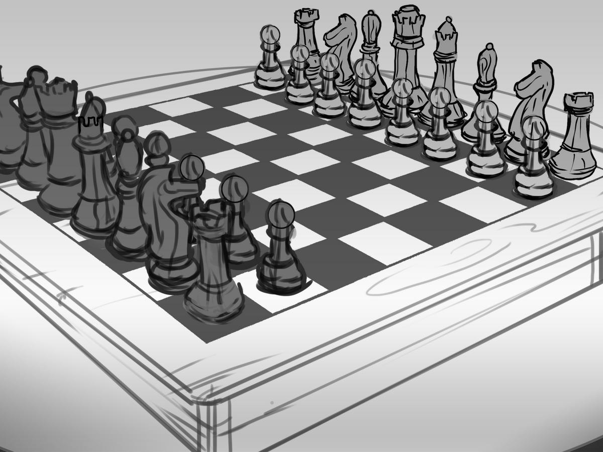 картинки шахмат распечатать