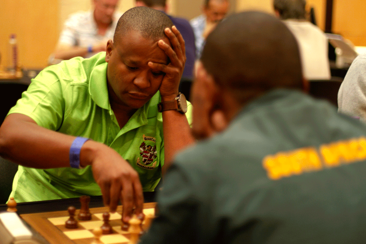 IM Johannes Mabusela is one of the strongest players in Southern Africa. | Photo: Alessandro Parodi/Chess.com