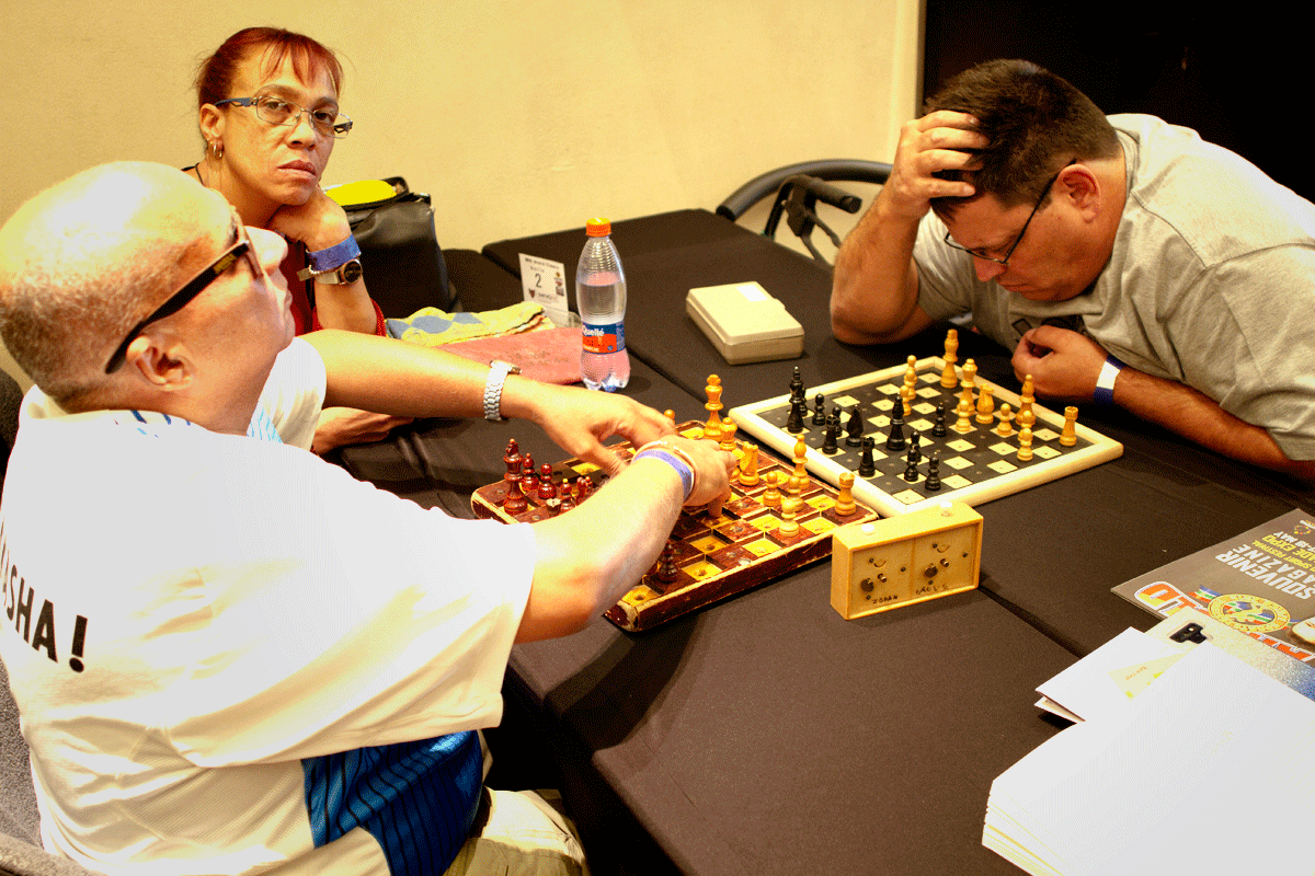 Chess for everyone at Arnold Classic. | Photo: Alessandro Parodi/Chess.com