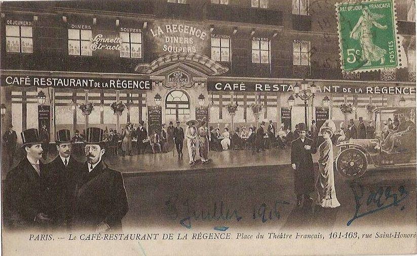 Cafe De Regence Paris