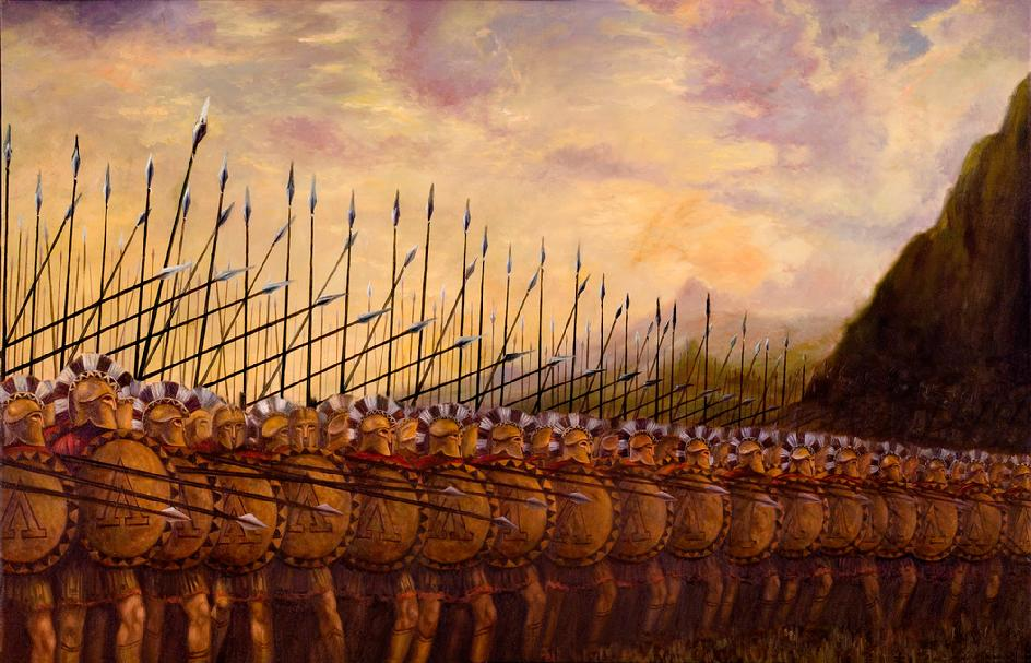 an essay on spartan war and the phalanx Free essay on spartan warfare, ancient greek warfare vs modern day war available totally free at echeatcom the phalanx was developed.