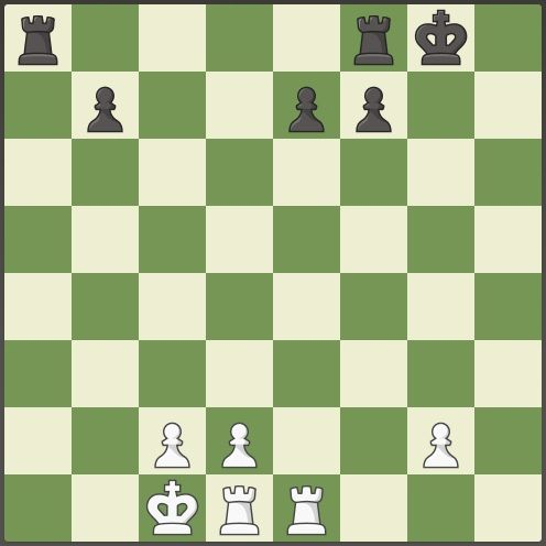 castling in chess960 game