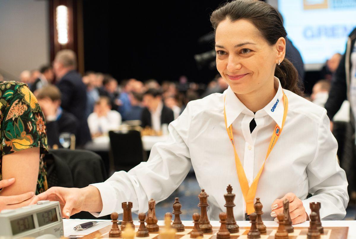Гроссмейстер Александра Костенюк Онлайн-олимпиада ФИДЕ