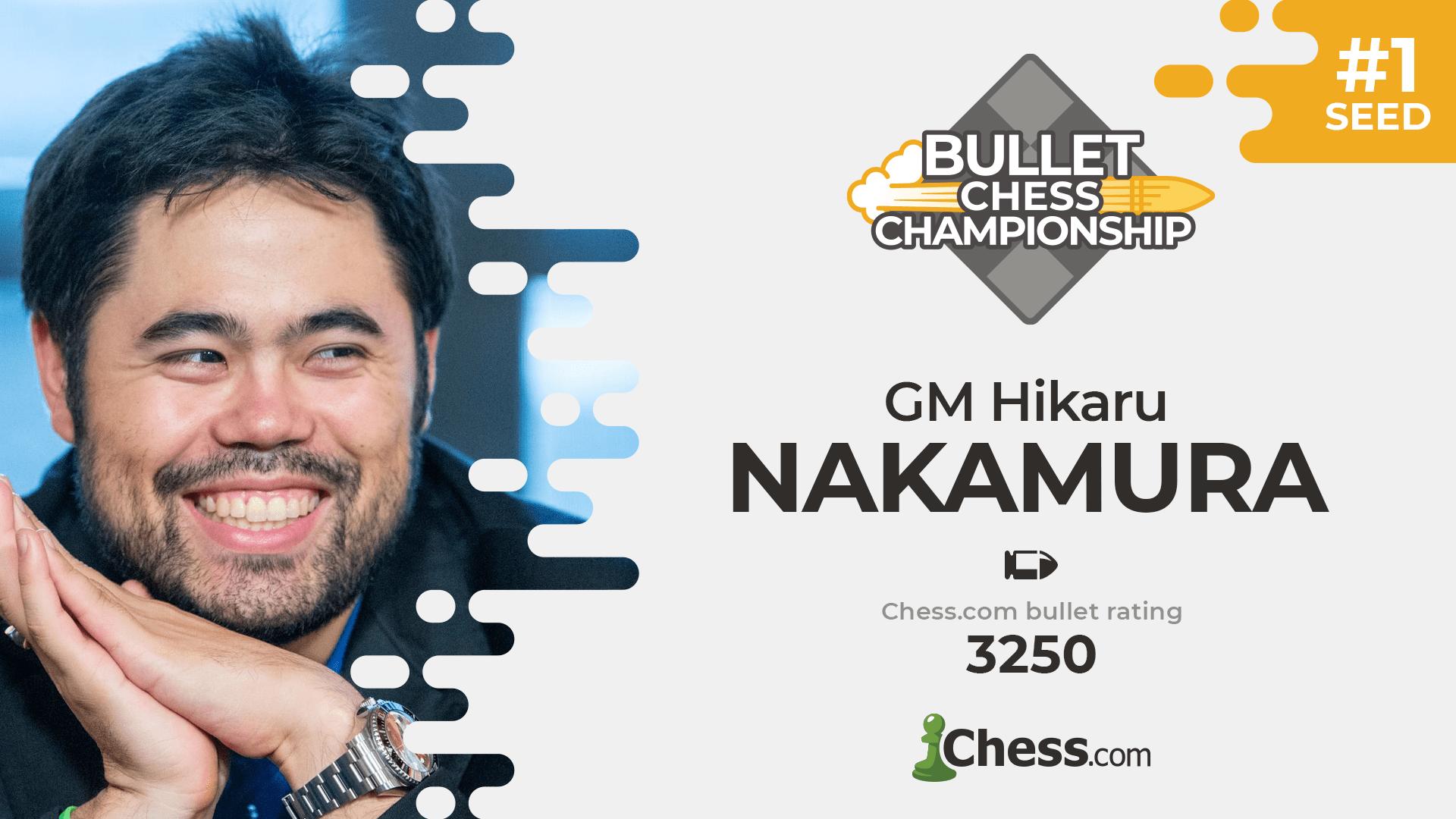 Hikaru Nakamura Chess.com World Bullet Chess Championship