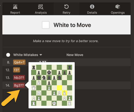 My favorite tiny new feature of the day    - Chess Forums