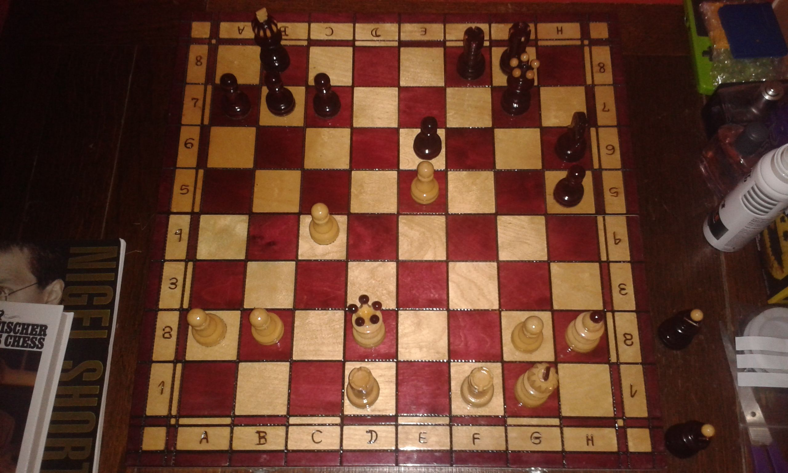 bobby fischer teaches chess puzzle help - Chess Forums - Chess.com