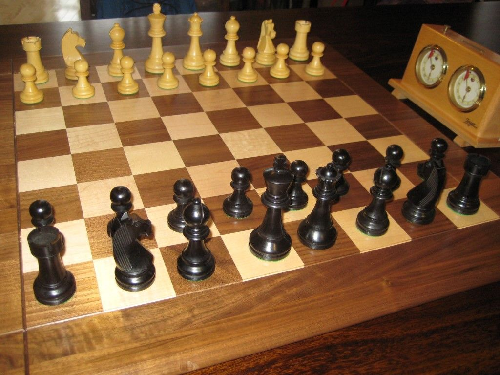 "Nice Chess Boards Looking For Chess Pieces To Go With My 2"" Drueke Board  Chess"