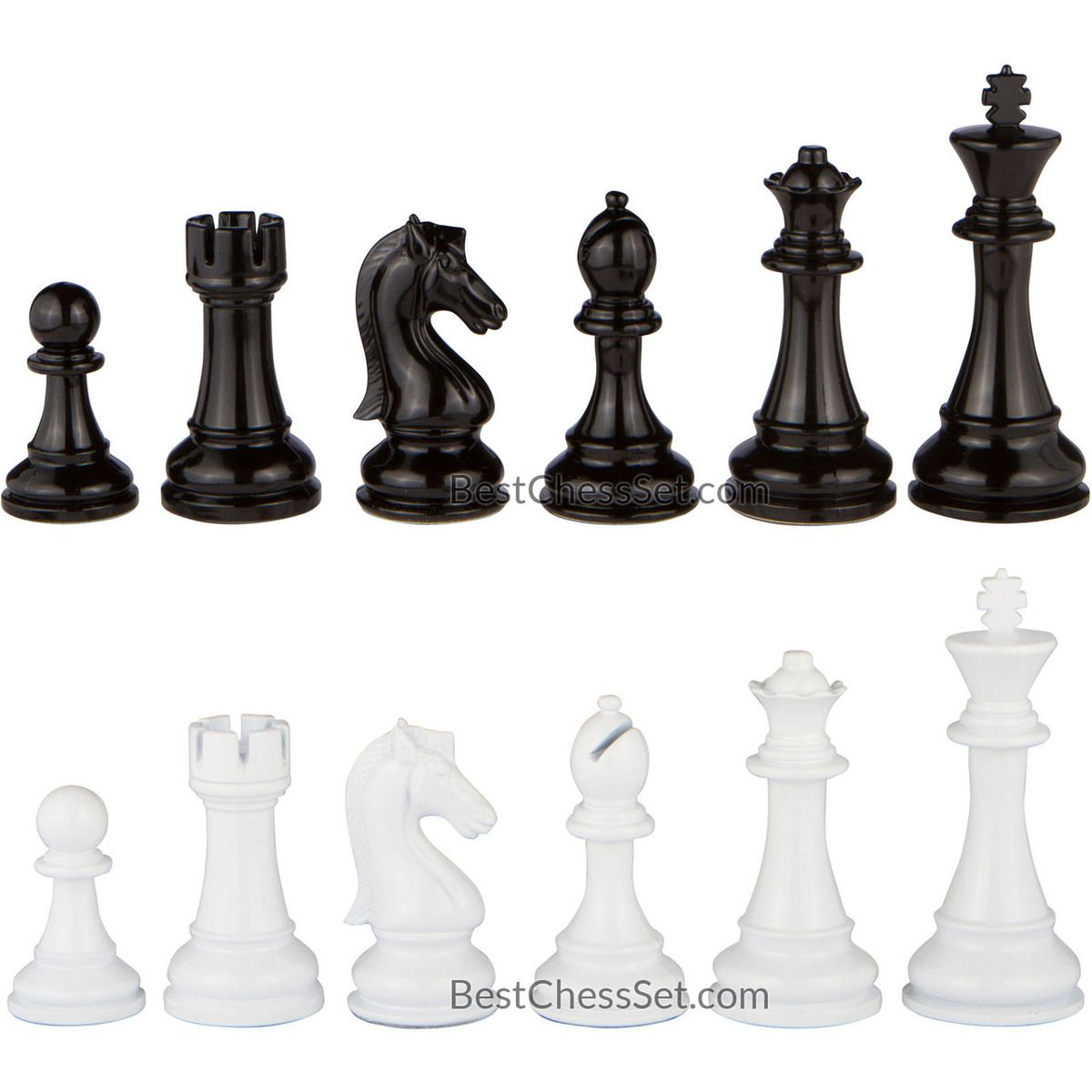 Review Minerva Black And White Extra Heavy Metal Chess