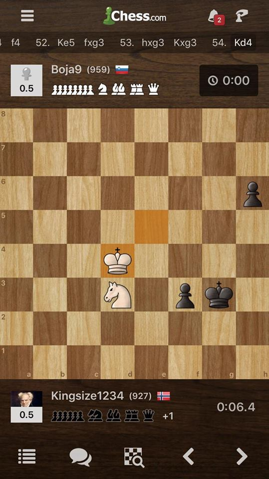 Why is this game a draw? Chess com not following FIDE rules