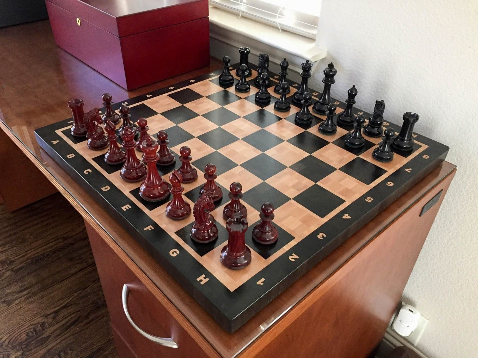Russian Chess Board for Sale - MTM Wood - Andrei Muntian