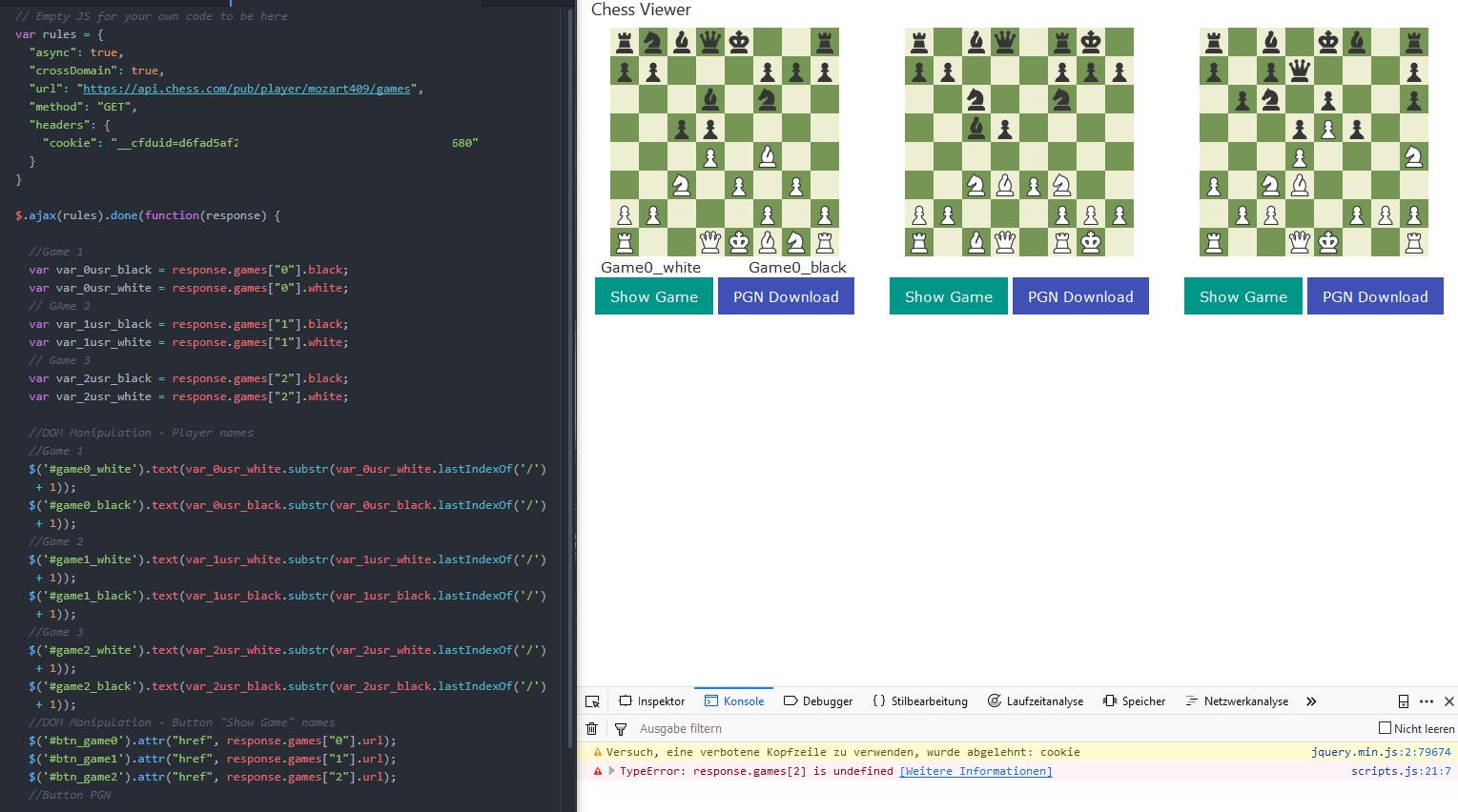 API Calls denial? - Chess Forums - Chess com